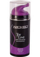 Wicked Toy Love Gel For Intimate Toys 3.3oz