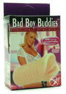 Bad Boy Buddies Real Feel Mouth 4 Inch Flesh